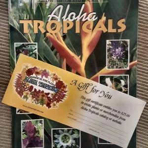 Tropical Plants Gift Certificates